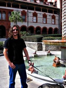 Jon at Flagler Museum, St. Augustine
